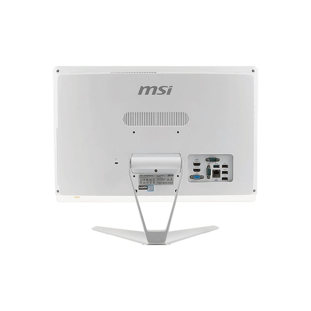 کامپیوتر آل این وان 19.5 اینچی ام اس ای مدل Pro 20EXT 7M Core i3-7100 - نمایی از قسمت پشت کامپیوتر آل این وان