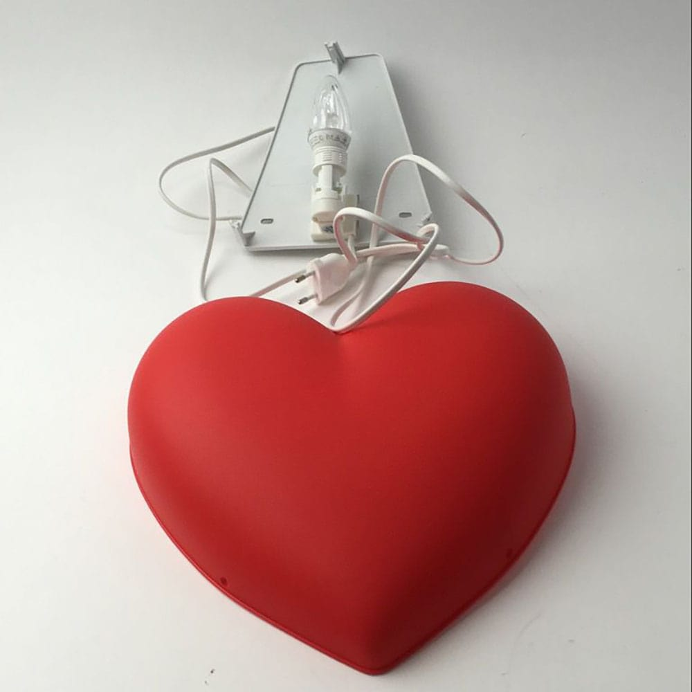 قیمت چراغ خواب طرح قلب ایکیا SMILA HJARTA
