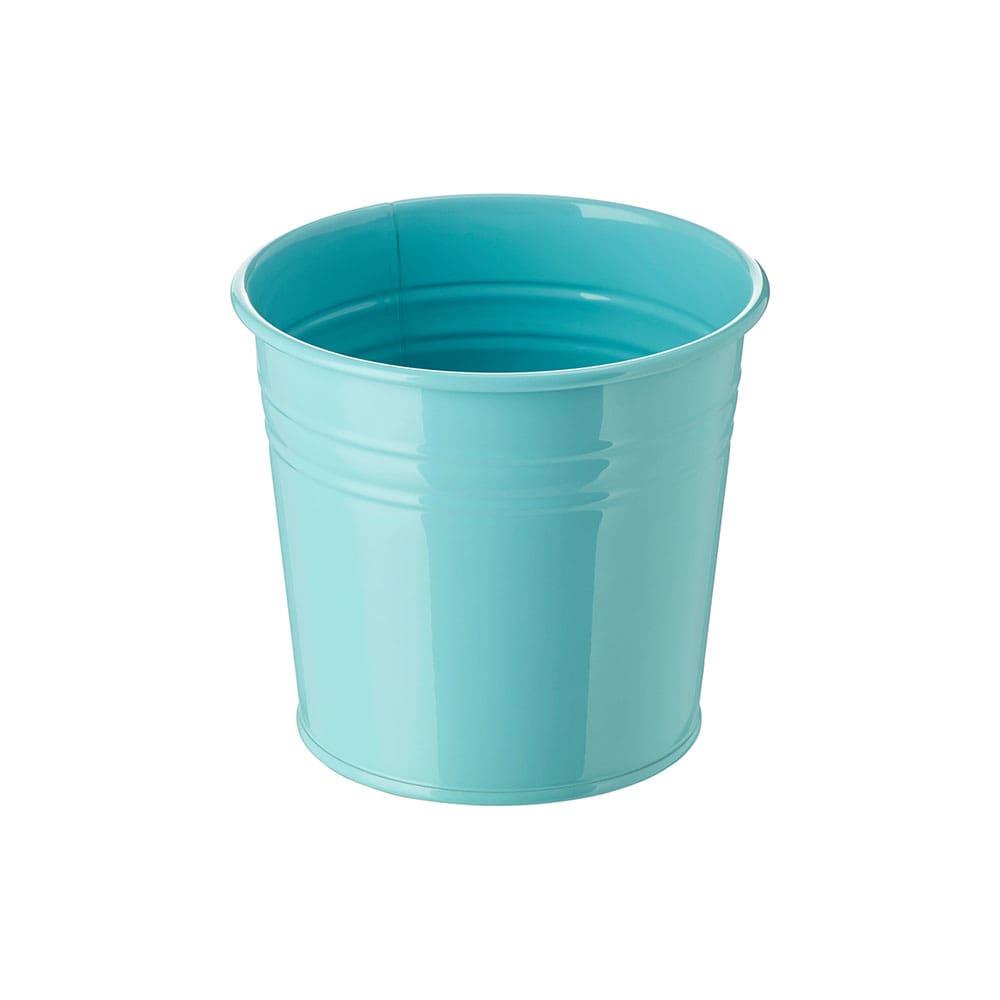 گلدان ایکیا SOCKER آبی فیروزه ای