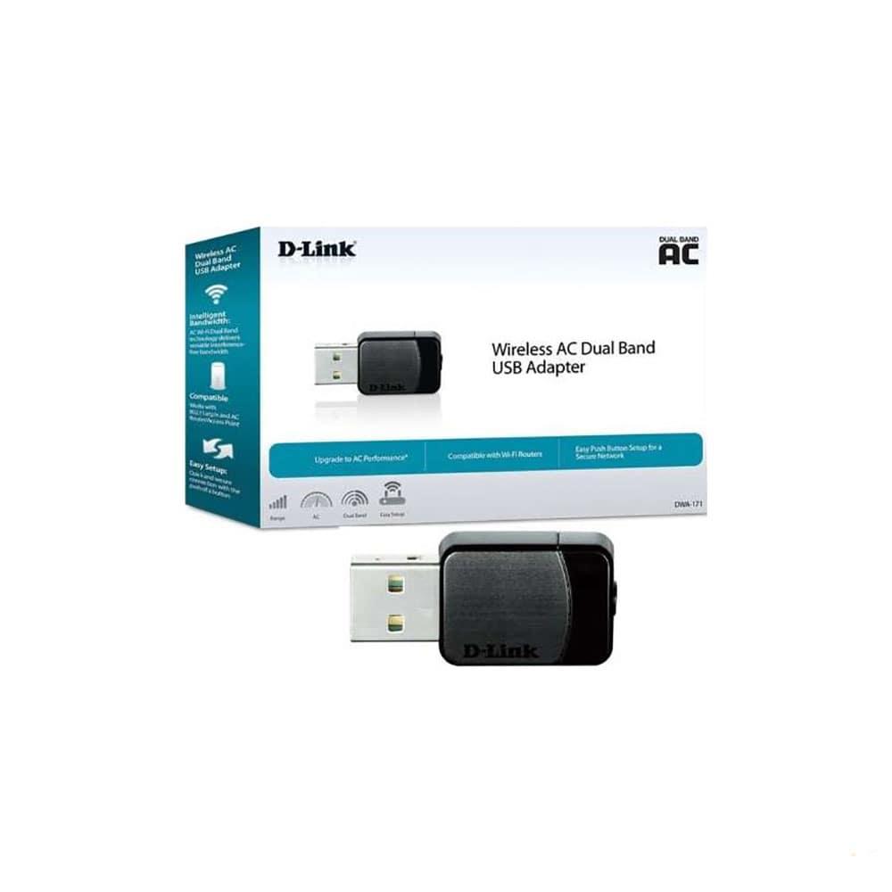 کارت شبکه USB دی لینک مدل DWA-171
