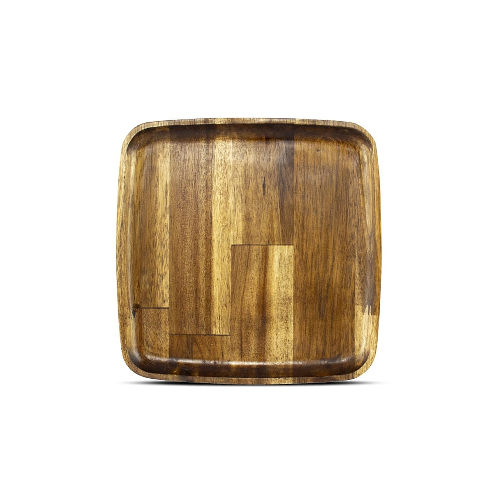 فروش بشقاب مربع چوبی استن لایف سایز 40