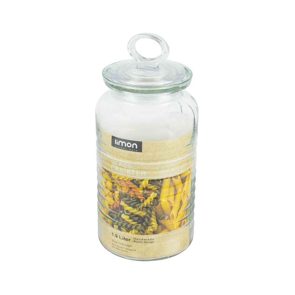 خرید بانکه شیشه ای روستیک لیمون کد 1870