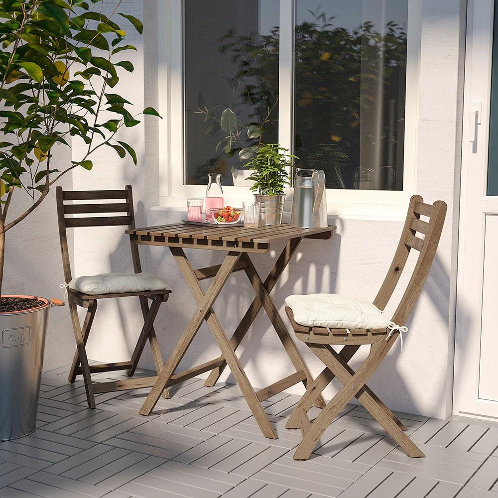 قیمت میز و صندلی ایکیا مدل ASKHOLMEN
