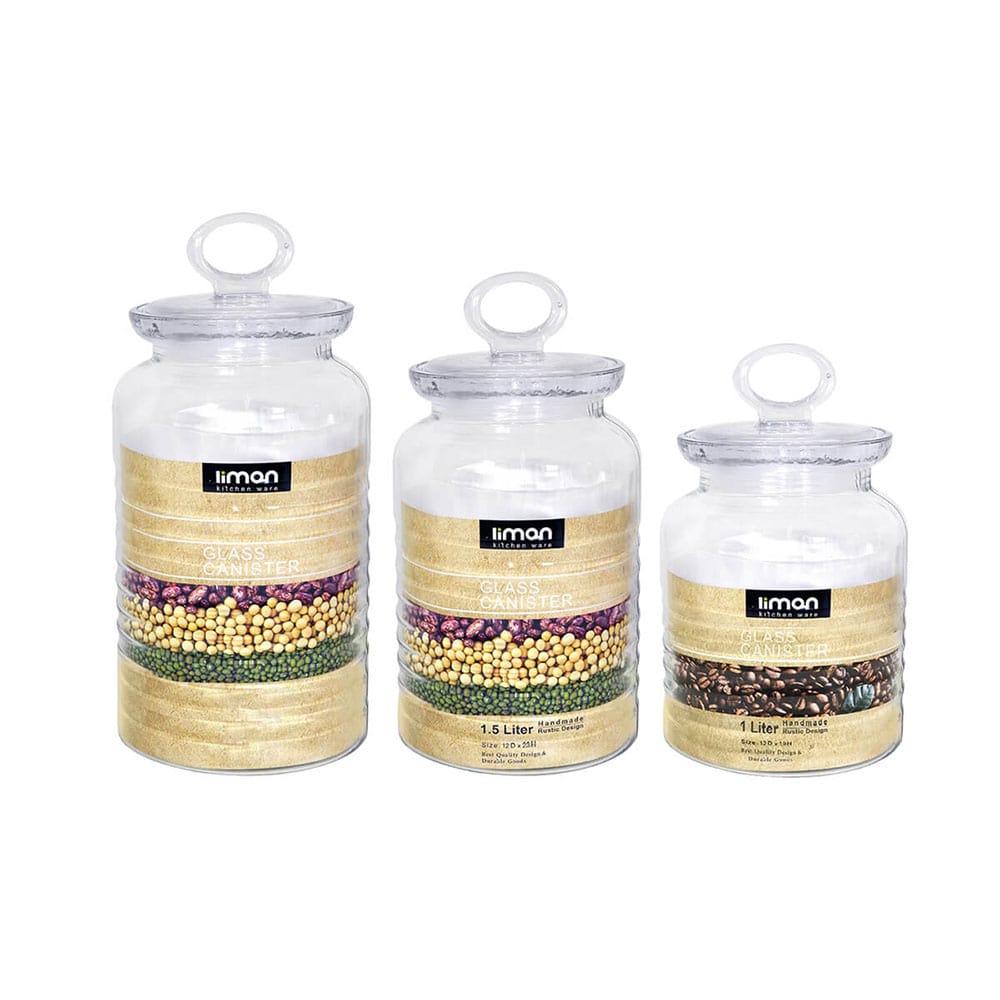 قیمت بانکه شیشه ای روستیک لیمون