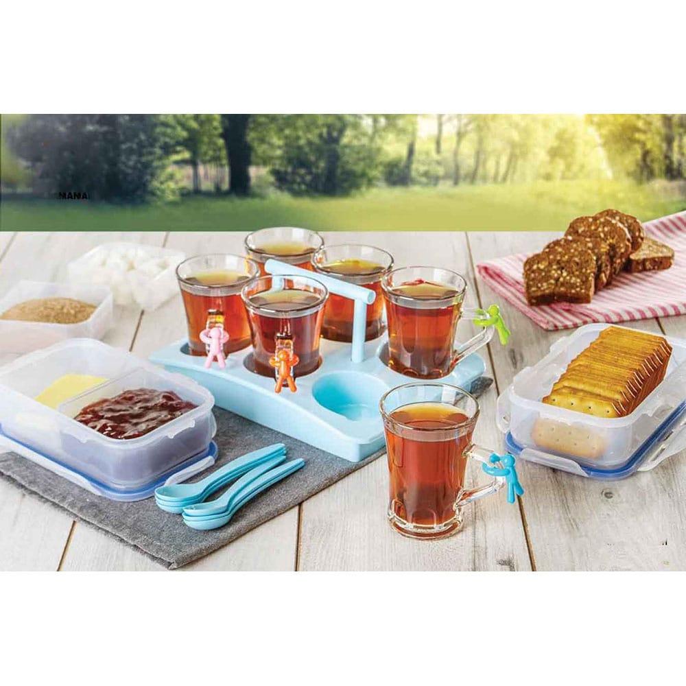 قیمت سرویس چای و صبحانه خوری مسافرتی لیمون