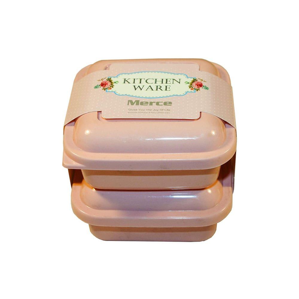 قیمت ظرف مرسه طرح kitchen ware بسته 2 عددی