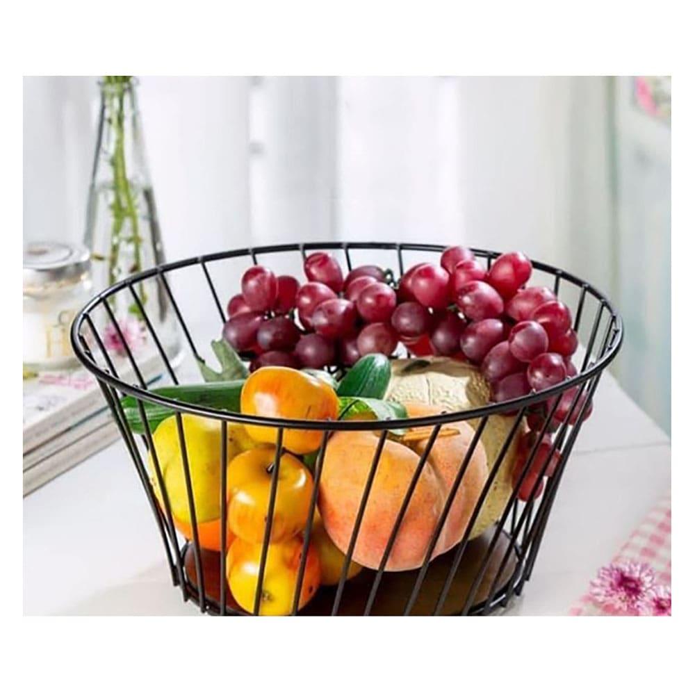 فروش سبد میوه فلزی مدل مورب والریا