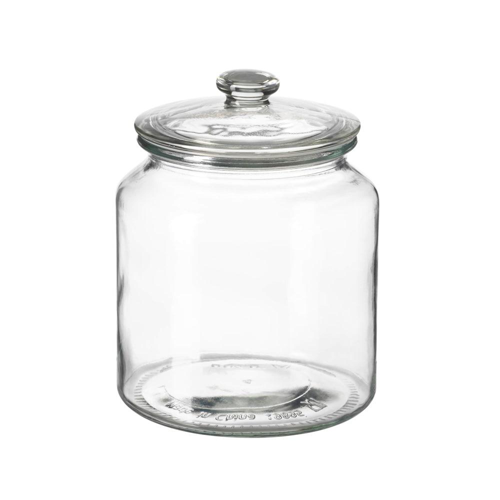 خرید بانکه شیشه ای ایکیا مدل VARDAGEN