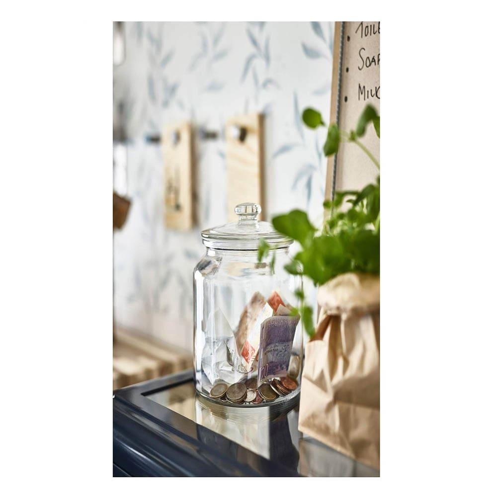 فروش بانکه شیشه ای ایکیا مدل VARDAGEN