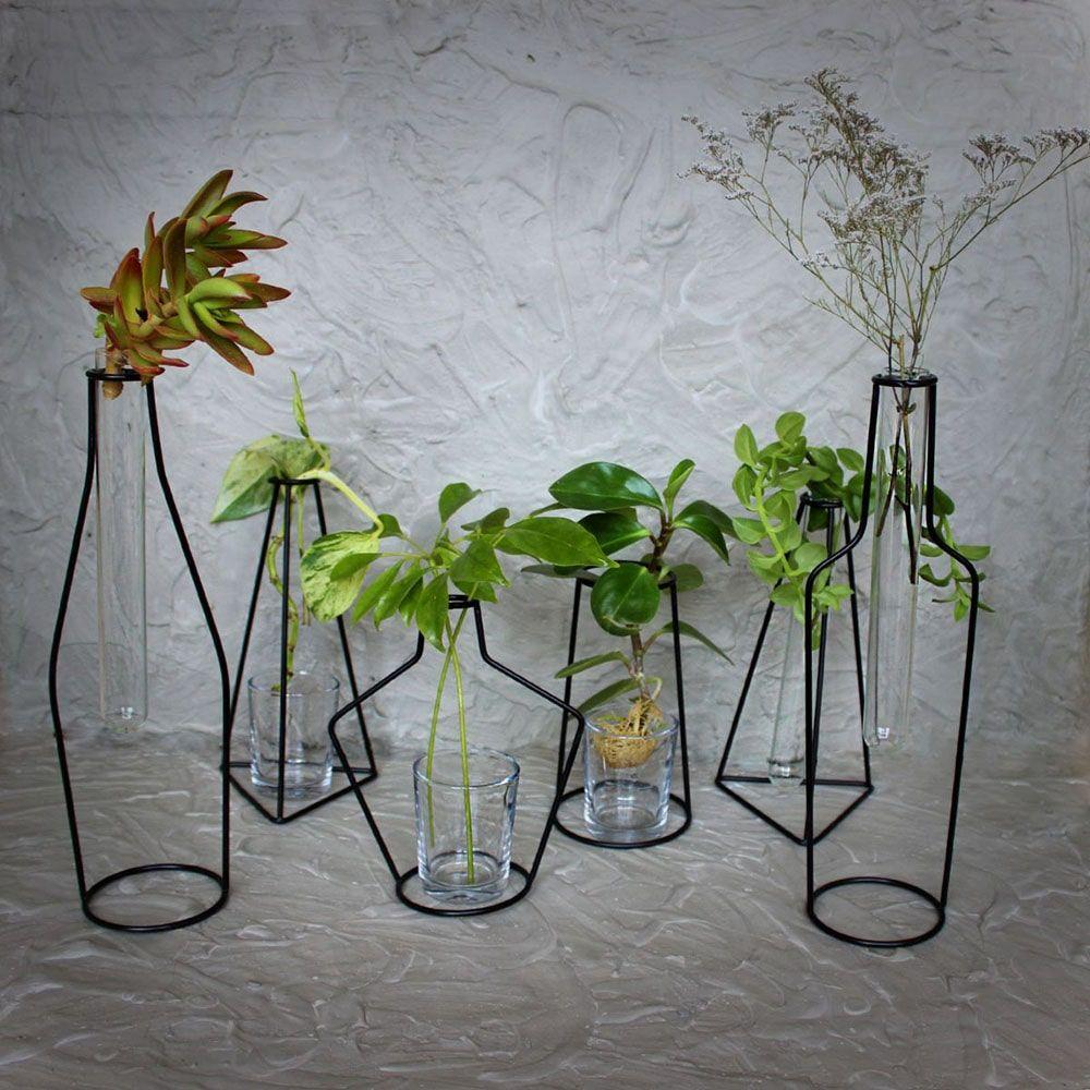 قیمت گلدان فلزی ENZO طرح بطری