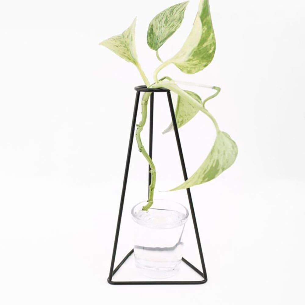 قیمت گلدان فلزی لیوان دار ENZO طرح مثلث