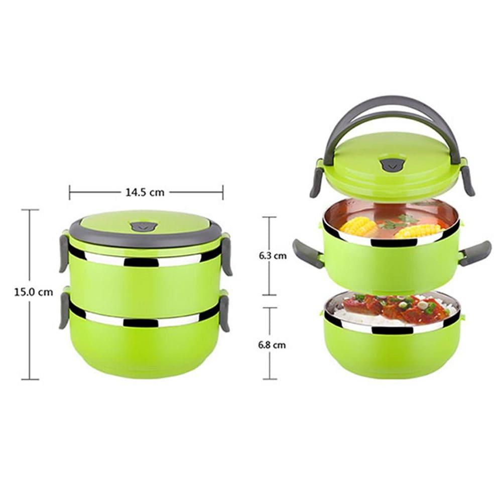خرید ظرف غذای دو طبقه Lunch box