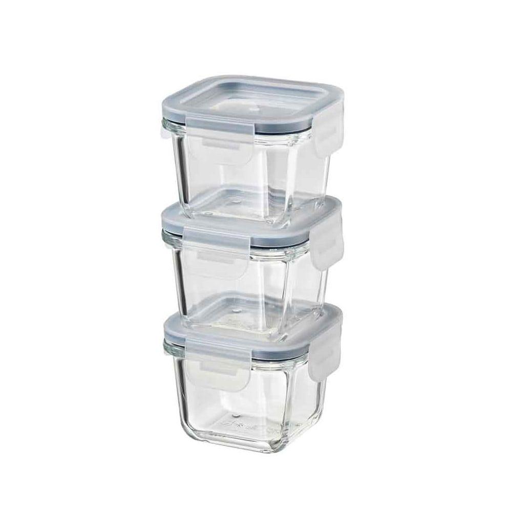 خرید ظرف نگهداری ایکیا مدل IKEA 365+ ست 3 تایی
