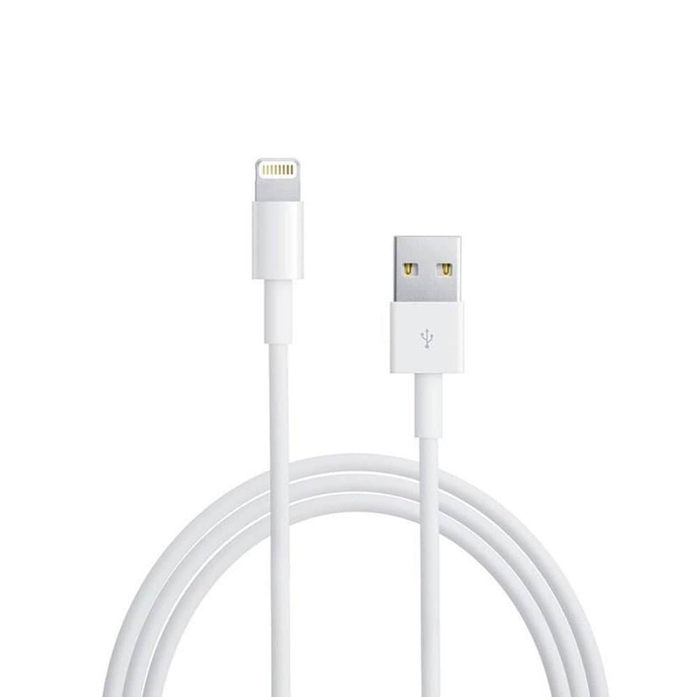 قیمت کابل تبدیل USB به لایتنینگ اپل 1 متری