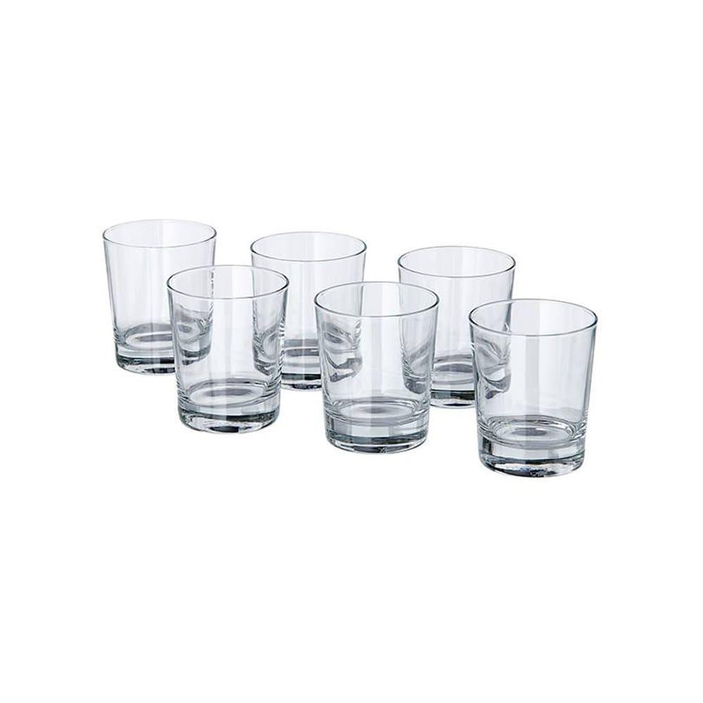 خرید لیوان کوتاه ایکیا مدل GODIS Short Glass بسته 6 عددی