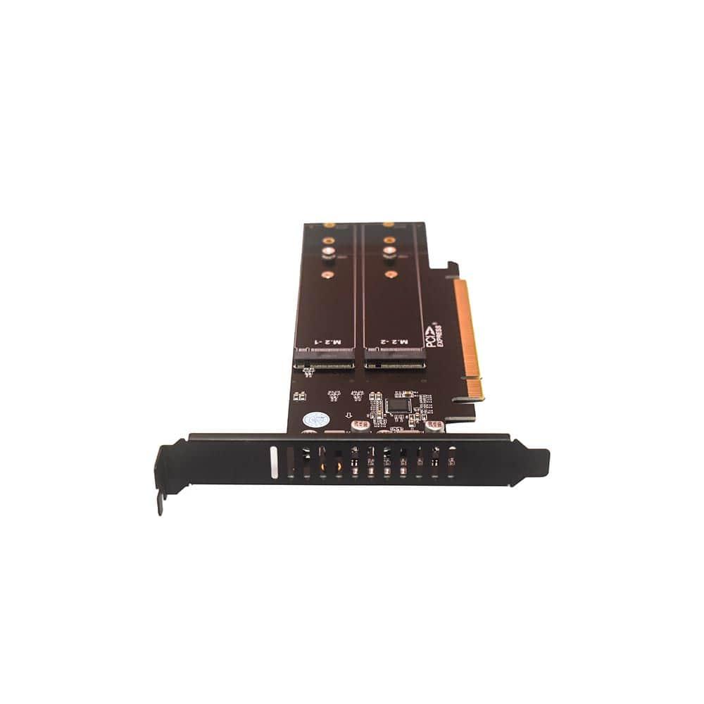 خرید کارت تبدیل M2-SSD NVME به PCI-E X16 هایسنسر