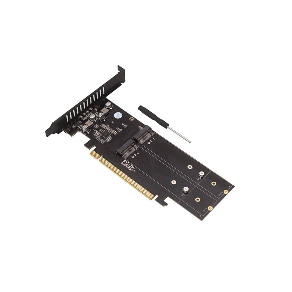 قیمت کارت تبدیل M2-SSD NVME به PCI-E X16 هایسنسر