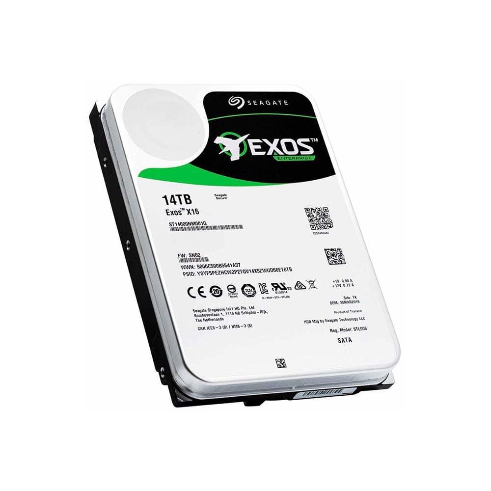 خرید هارد دیسک اینترنال سیگیت EXOS ظرفیت 14 ترابایت