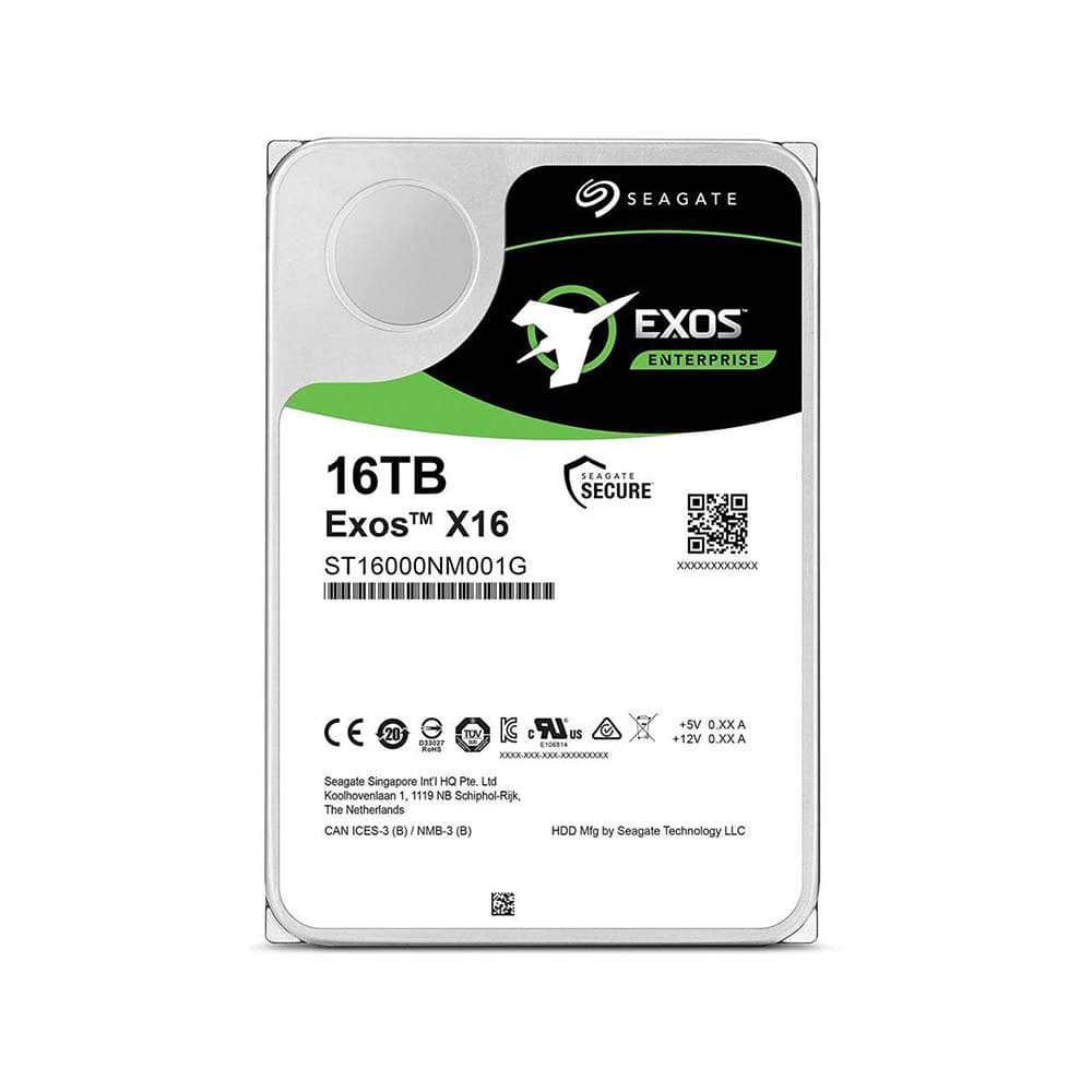 خرید هارد دیسک اینترنال سیگیت EXOS ظرفیت 16 ترابایت